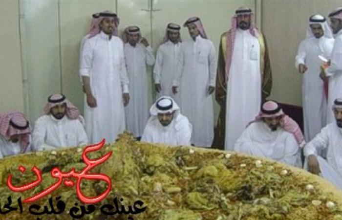 بالصور || وليمة لأمير سعودي تثير غضب مواقع التواصل