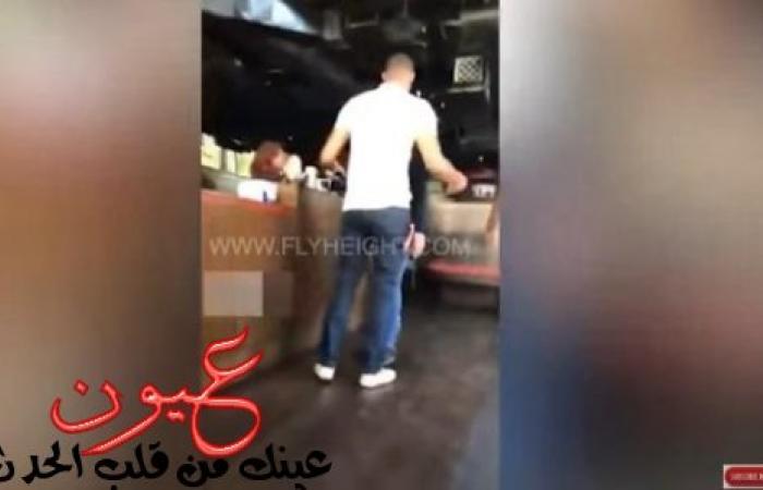 بالفيديو...شاب ينتقم من حبيبته الخائنة بطريقة محرجة