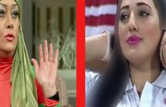 بالفيديو رد ناري من حسناء الزمالك على الفنانة هالة فاخر بعد مداعبتها «معانا الموزة»