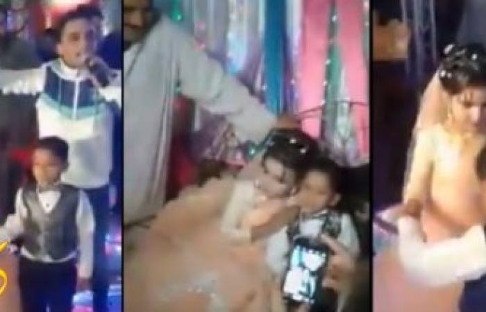 لن تصدق بالفيديو .. إستمراراََ لقصص الزواج المبكر، العريس 9 سنوات والعروسة 8 سنوات