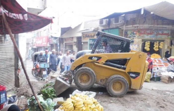 فرسان مصر يقود حملة نظافة علي مستوي سنورس .