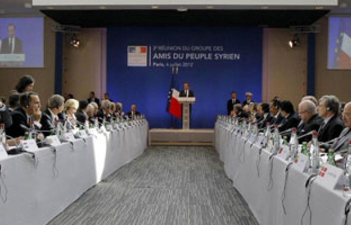 """السفير السورى فى عمان يدين اجتماع """"أصدقاء سوريا"""""""