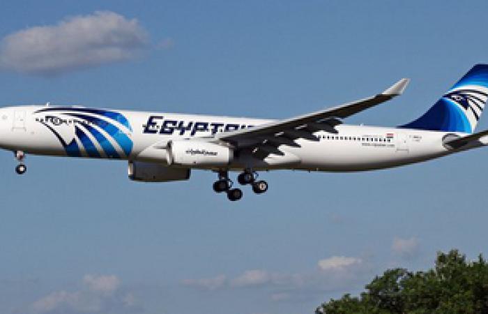تأخر إقلاع الطائرة المصرية 9 ساعات لسوء الأحوال الجوية بطرابلس
