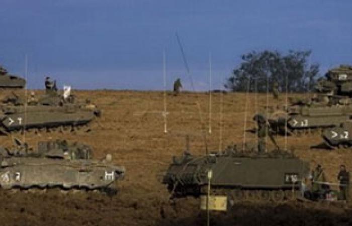آليات عسكرية إسرائيلية تتوغل فى غزة للمرة الثانية بالأمس