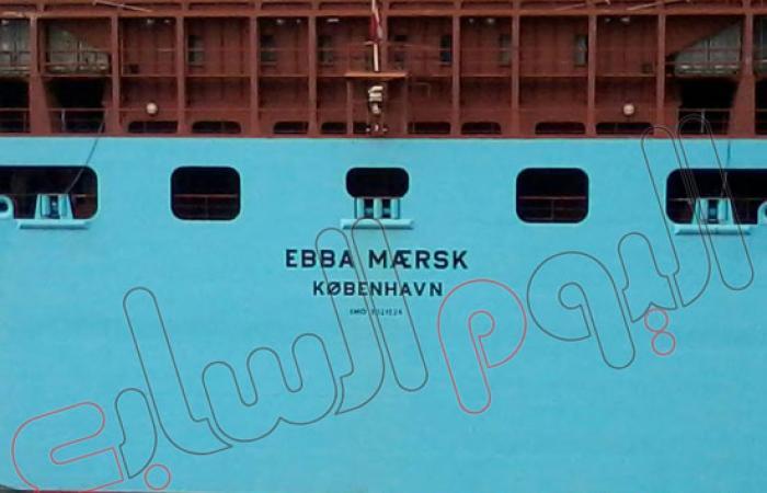 بالصور.. ميناء شرق بورسعيد يستقبل أكبر سفينة حاويات فى العالم