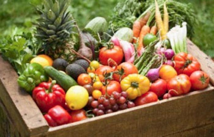 الخضراوات والفواكه للقضاء على الأنفلونزا