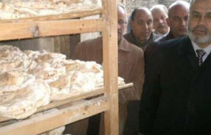 تجمهر أمام مخبزين بكفر الشيخ اعتراضا على رائحة ولون الخبز