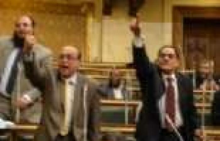 """مشادة بين نواب """"الحرية والعدالة"""" و""""النور"""" بـ""""الشورى"""" بسبب القرض القطري"""