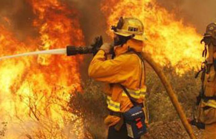 التحقيقات الأولية: التوصيل غير القانونى للكهرباء وراء حريق قرية شلتوت