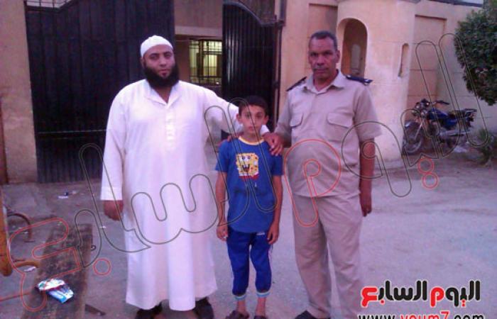 الدعوة السلفية بالفيوم تعثر على طفل سورى