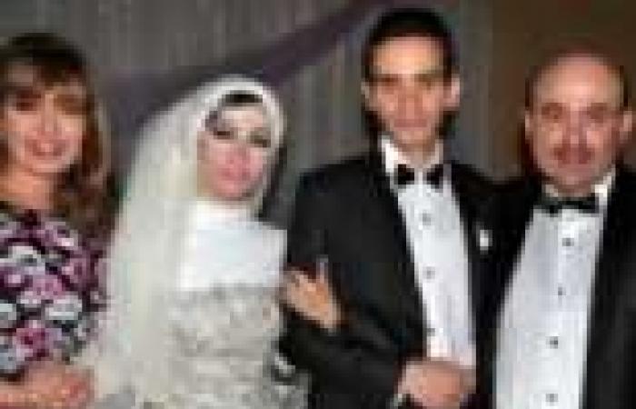 بالصور   نجوم السينما في زفاف علاء فخر وسلمى سمير