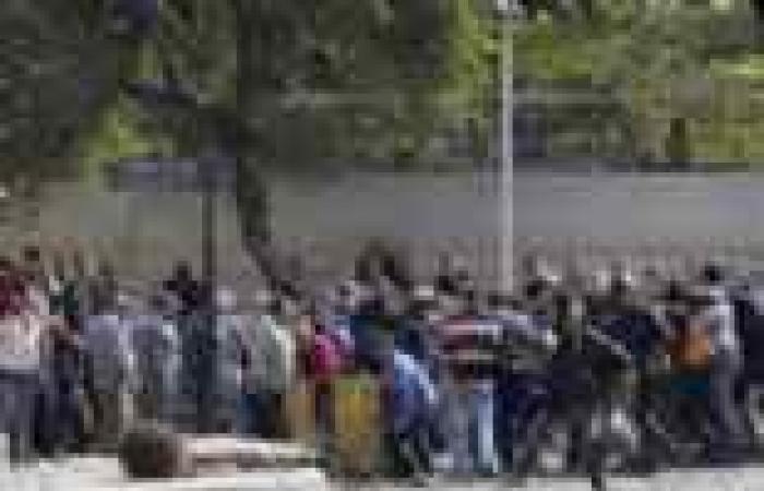 التحقيق مع 31 شابا في أحداث قطع الطريق بكوبري قصر النيل
