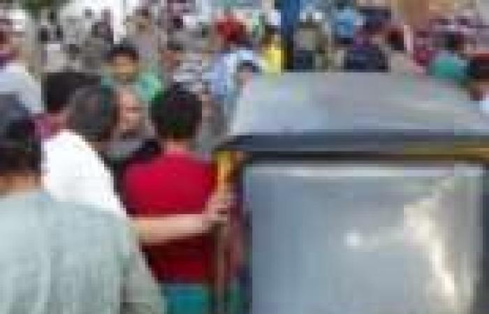 بالصور| إصابة 5 مواطنين في احتراق محطة وقود بالمنصورة