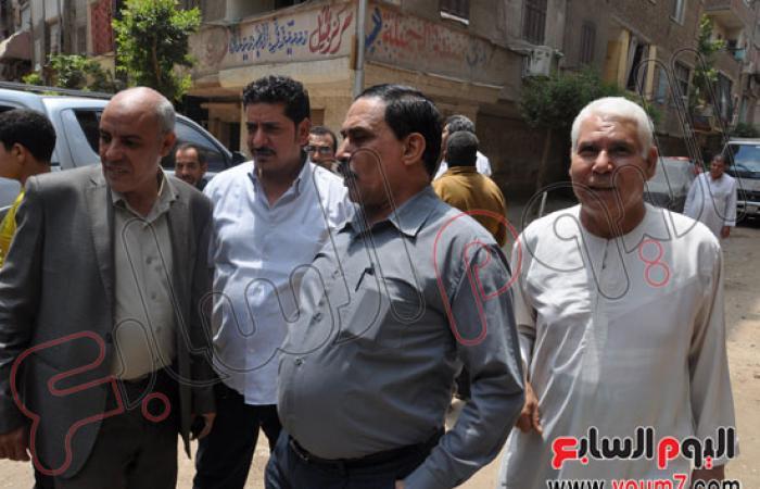"""بالصور.. حملة موسعة لنظافة """"أرض نوبار"""" وشارع 15 مايو بشبرا"""