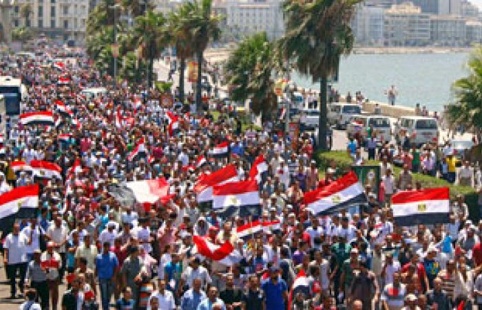 تشييع جثامين ضحايا اشتباكات الأمس من مشرحة الإسكندرية