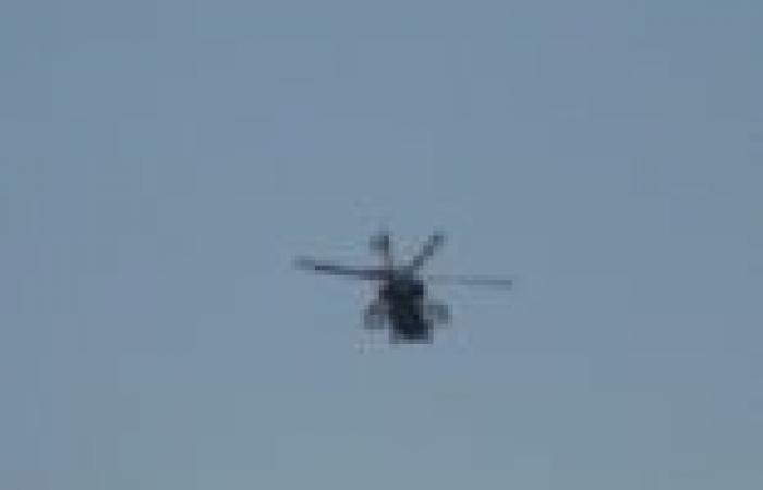 طائرات الهليكوبتر تمشط جبل عتاقة والمجرى الملاحي لقناة السويس