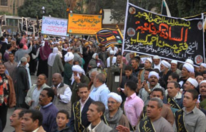 حلقات ذكر للطرق الصوفية بميدان التحرير