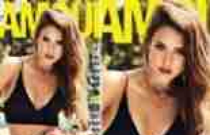 """بالصور  جاسيكا ألبا على غلاف """"glamour"""" بملابس رياضية"""