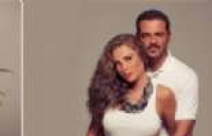 بالصور  نيكول سابا وهي حامل في جلسة تصوير مع زوجها يوسف الخال