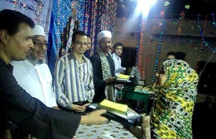 الجمعية الشرعية بسمهود تحتفل بليلة القدر بمركز أبو تشت
