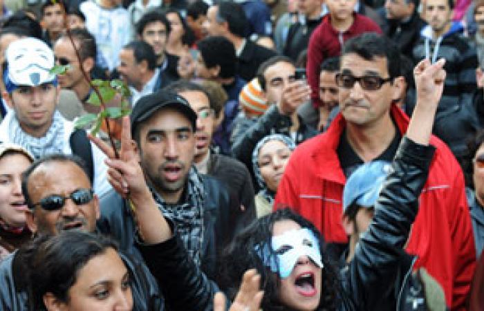 تظاهرة فى الدار البيضاء ضد العفو الملكى عن مغتصب الأطفال بالمغرب