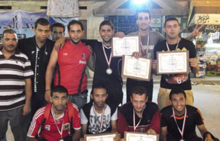 """""""الدستور"""" بالإسكندرية ينهى فعاليات دورة كرة القدم فى حب مصر"""