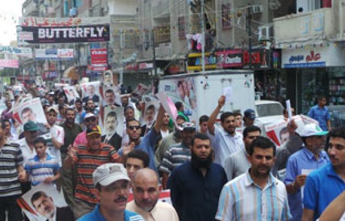 3 مسيرات لأنصار الإخوان فى قنا