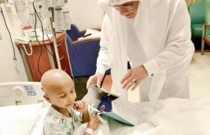 «أصدقاء المجتمع» ترسم بهجة العيد على محيا مرضى الأورام