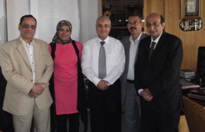 """""""وفد"""" الإسماعيلية يلتقى مدير الأمن لتقديم التهنئة بعيد الفطر"""