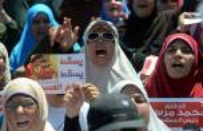وصول مسيرتي «الاستقامة» و«أسد بن الفرات» لأنصار مرسي إلى «النهضة»