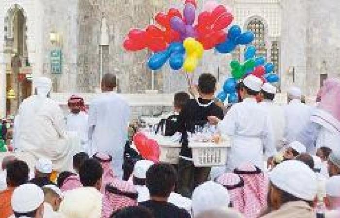 العيد في مكة دفء للمشاعر وزيارة للأهل وفرحة للأطفال