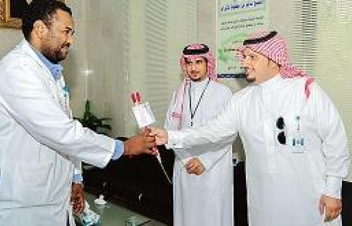 مدينة الملك عبدالله تعايد مرضى الأورام