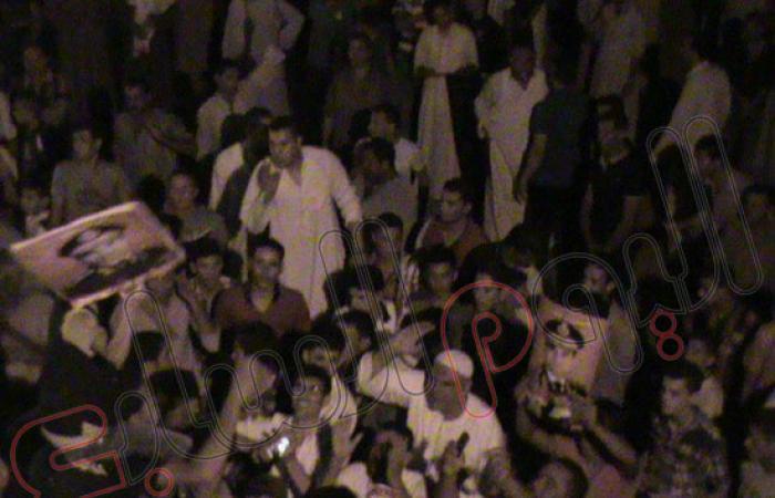 """بالصور.. """"سوق الثلاثاء"""" بكفر الشيخ تنتفض تأييداً لـ""""السيسى"""""""