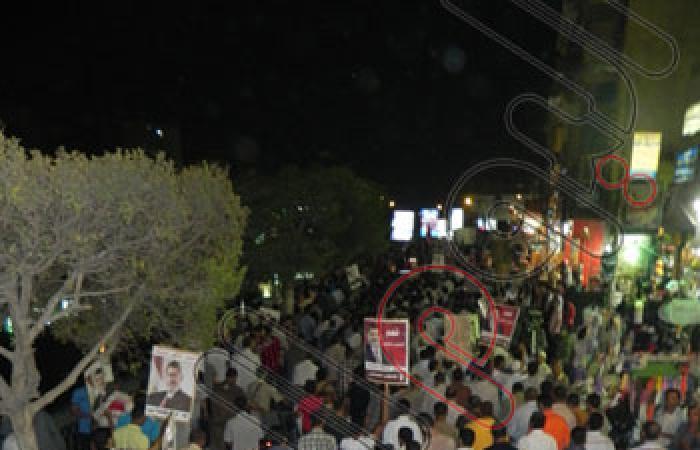 بالصور..مسيرة لأنصار الإخوان بالفيوم