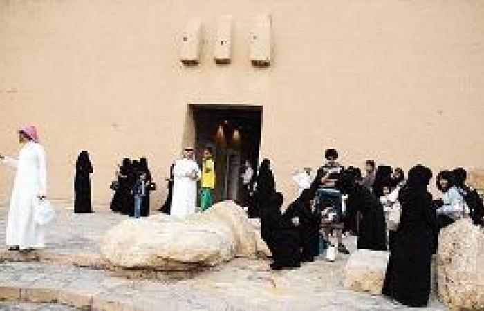 33 ألف زائر وسائح في متحف المصمك التاريخي أيام العيد