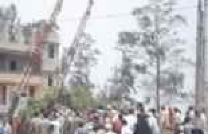 الشرقية: قطع طرق ومحاولة اقتحام المحافظة وحرق مركز شرطة