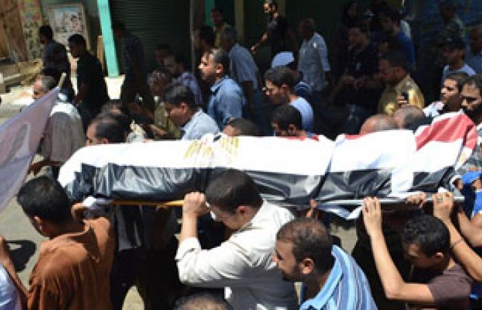 اليوم.. تشييع جنازة الضابط حسام بهى بالإسكندرية