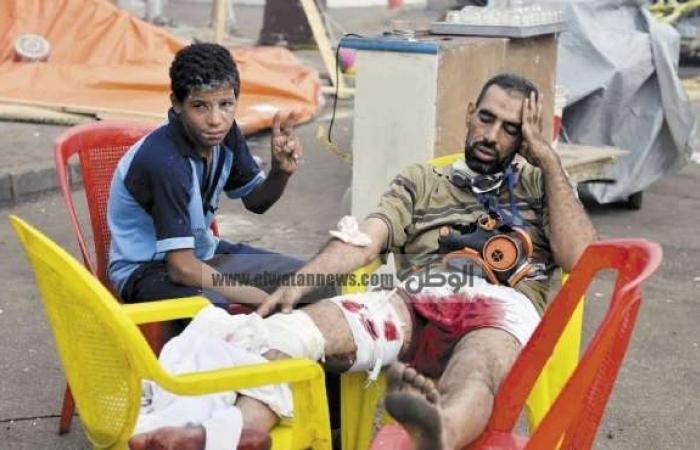 «الصحة»: 525 قتيلاً و3717 مصاباً الحصيلة الرسمية للاشتباكات بالقاهرة والمحافظات