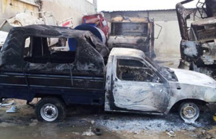 ننشر قائمة بخسائر شمال سيناء من إحراق المقرات وسرقة السيارات الحكومية