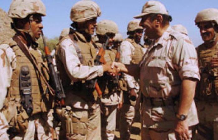 حرس الحدود السعودى :إحباط تهريب سلاح وذخيرة على الحدود مع اليمن