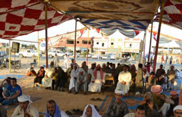 أهالى مدينتى السلوم وبرانى يحتفلون بالمصالحة المجتمعية والعيد القومى