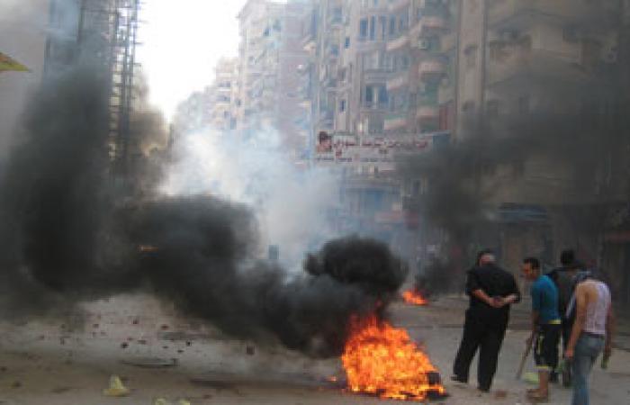أنصار الإخوان يحطمون عددًا من السيارات ومداخل العمارات بطنطا