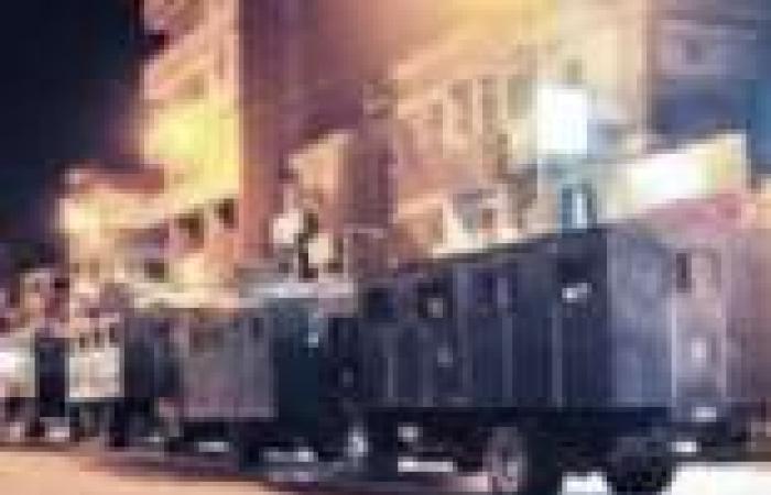 قوات الأمن تفرق مسيرة الإخوان في عين شمس