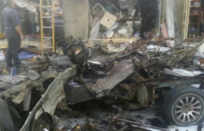 ارتفاع ضحايا الهجوم الانتحارى بالرمادى العراقية لـ 12 قتيلا و23 جريحا