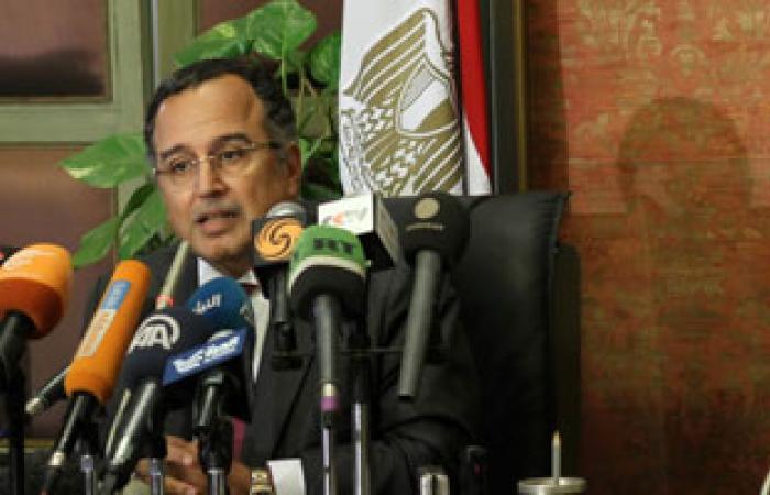 نبيل فهمى يناقش مع نظيره الليبى مبادرة مصر لتطوير علاقات دول الجوار