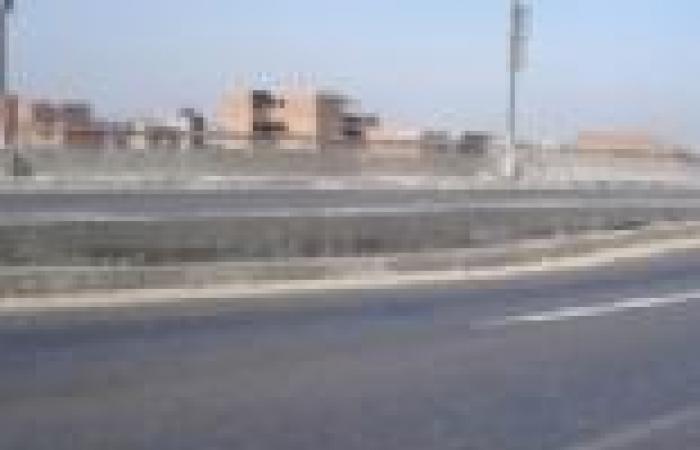 """هبوط جزئي بكوبري """"سرسنا"""" يشل الحركة على طريق الشهداء شبين الكوم بالمنوفية"""