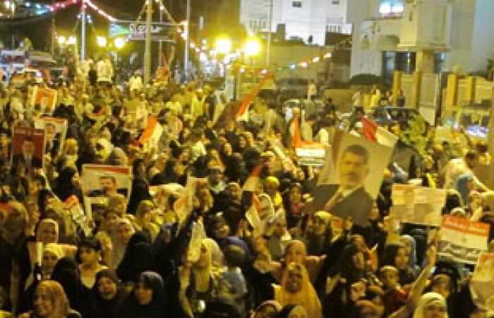 اشتباك بين الأهالى والإخوان بطهطا بسبب هتافات ضد الشرطة والجيش
