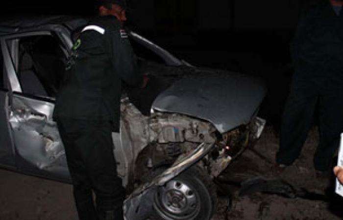 إصابة 8 أمناء شرطة فى حادث انقلاب مدرعة بمطلع كوبرى بالمنوفية