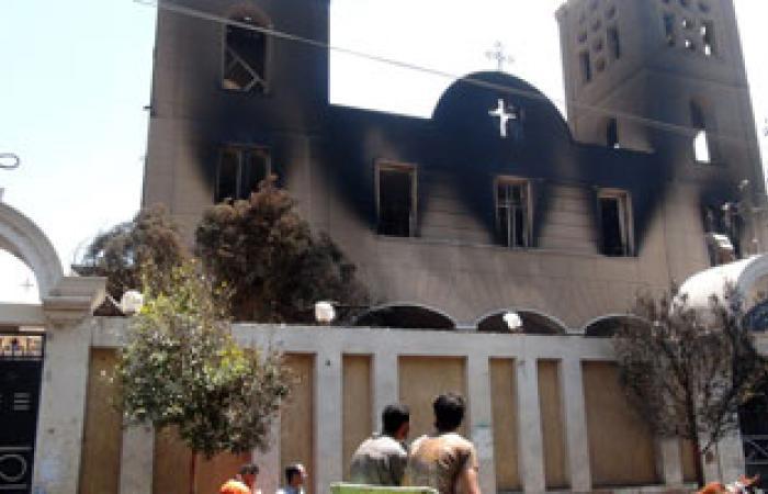 ضبط 19 من المتهمين بالتعدى على المراكز ودور العبادة المسيحية بالمنيا
