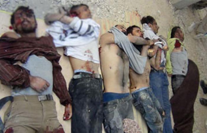 ارتفاع حصيلة مجازر الأسد فى سوريا بالأمس لـ102 بينهم أطفال ونساء